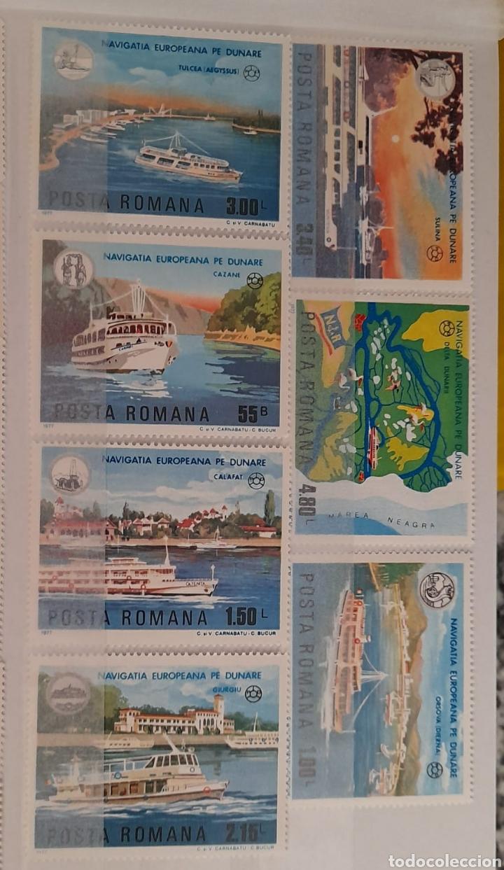 Sellos: Lote 3 series de barcos Rumanos/** sellos nuevos. - Foto 2 - 278487928