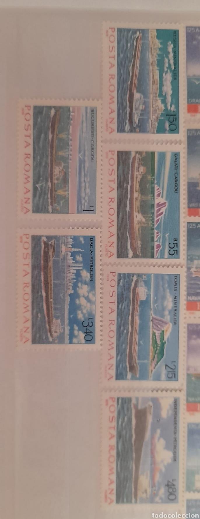Sellos: Lote 3 series de barcos Rumanos/** sellos nuevos. - Foto 4 - 278487928