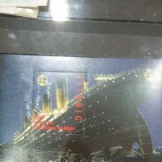 Sellos: HB R. NIGER NUEVA/1998/TITANIC/BARCO/TRANSATLANTICO/VIAJE/TRANSPORTE/PELICULA/VAPOR/INVENTOS/ACONTEC. Lote 278608203