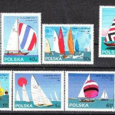 Sellos: 1965 POLONIA SERIE VELA **. Lote 288010143