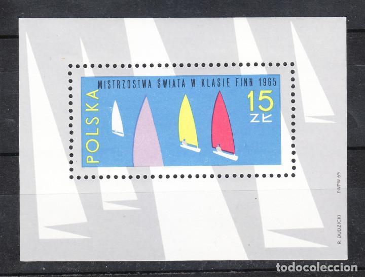 1965 BLOQUE VELA MISTRZOSTWA ** (Sellos - Temáticas - Barcos)