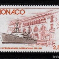 Sellos: MONACO 1279** - AÑO 1981 - BARCOS. Lote 288092768