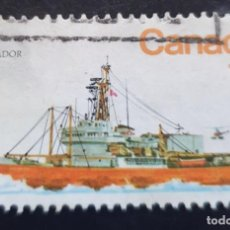 "Sellos: MICHEL CA 714 - CANADÁ - ICE-BREAKER ""LABRADOR"" (STEAMER) - 1978. Lote 288619933"