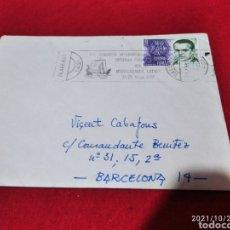 Sellos: SOBRE CIRCULADO CUÑO XIV CONGRESO INTERNACIONAL SOCIEDAD FARMACÉUTICA DEL MEDITERRÁNEO LATINO. Lote 295818908