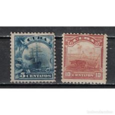 Sellos: ⚡ DISCOUNT CUBA 1905 COUNTRY SCENES - RE-ENGRAVED WITHOUT WATERMARKED NG - SHIPS. Lote 296051023