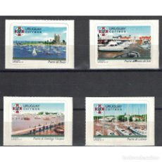 Sellos: ⚡ DISCOUNT URUGUAY 1997 YACHTING HARBOURS MNH - YACHT. Lote 296059458