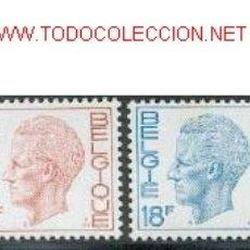 Sellos: BÉLGICA 1971. BÁSICO: REY BALDUINO. Lote 818888