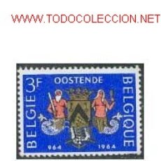 Sellos: BÉLGICA 1964. MILENARIO DE OSTENDE. Lote 839829