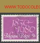 BÉLGICA 1980. 150 AÑOS DE INDEPENDENCIA BELGA (Sellos - Extranjero - Europa - Bélgica)