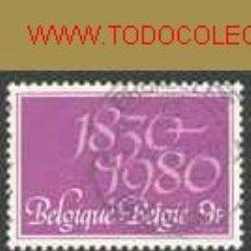 Sellos: BÉLGICA 1980. 150 AÑOS DE INDEPENDENCIA BELGA. Lote 840850