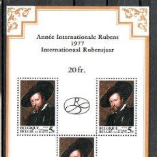Sellos: BELGICA HB 52 SIN CHARNELA, PINTURA, AÑO INTERNACIONAL DE RUBENS, MAESTRO DEL BARROCO EN EUROPA, . Lote 8566498