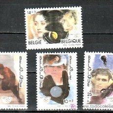 Sellos: BELGICA 2439/42 SIN CHARNELA, DEPORTE, BARCELONA 92, JUEGOS OLIMPICOS, . Lote 10799277