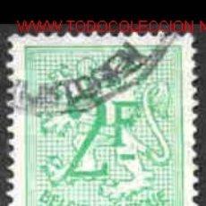 Sellos: BÉLGICA 1972. BÁSICO: LEÓN HERÁLDICO. Lote 1361734