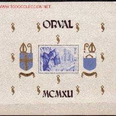 Sellos: BELGICA HB 11/12*** - AÑO 1941 - PRO RECONSTRUCCION DE LA ABADIA DE ORVAL. Lote 24083956