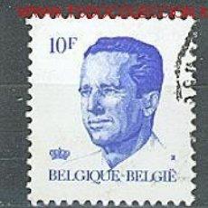 Sellos: BÉLGICA 1982. BÁSICO: REY BALDUINO. Lote 2518369