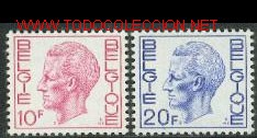 BÉLGICA 1971. BÁSICO: REY BALDUINO (Sellos - Extranjero - Europa - Bélgica)