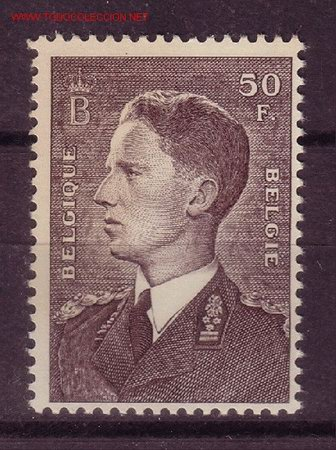 BÉLGICA 879*** - AÑO 1952 - BALDUINO I (Sellos - Extranjero - Europa - Bélgica)