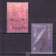 Sellos: BELGICA 2283/4 SIN CHARNELA, TEMA EUROPA 1988, TRANSPORTE Y COMUNICACIONES, . Lote 10913197