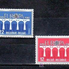 Sellos: BELGICA 2130/1 SIN CHARNELA, TEMA EUROPA 1984, 25º ANIVERSARIO CONFERENCIA EUROPEA, . Lote 10913313