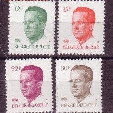 Sellos: BELGICA 2122/25** - AÑO 1984 - REY BALDUINO I. Lote 26266661