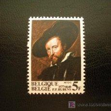 Sellos: BELGICA 1977 IVERT 1855 *** PINTURA - P. P. RUBENS . Lote 13883876