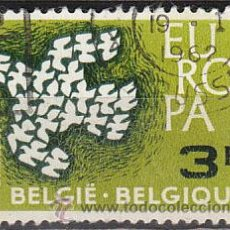 Sellos: BELGICA IVERT Nº 1193, EUROPA 1961, USADO. Lote 16215804