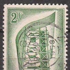 Sellos: BELGICA IVERT Nº 994, EUROPA 1956, USADO. Lote 16216054