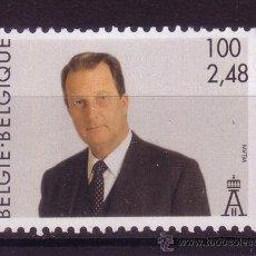 Sellos: BÉLGICA 2978*** - AÑO 2001 - REY ALBERT II. Lote 24057849
