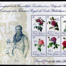 Sellos: BÉLGICA AÑO 1990 MI HB 61*** ROSAS - FLORA - FLORES - CENTº DE LA FEDERACIÓN FILATÉLICA BÉLGICA'90. Lote 27641132