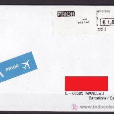 Sellos: ATM BELGICA SOBRE CARTA CIRCULADA 2004. Lote 26464952