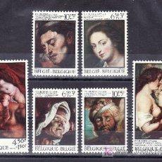 Sellos: BELGICA 1811/6 SIN CHARNELA, PINTURA, IV CENTENARIO NACIMIENTO DEL PINTOR PIERRE PAUL RUBENS. Lote 25227953