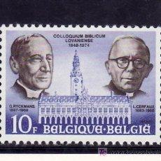 Sellos: BELGICA 1765 SIN CHARNELA, BIBLIOTECA UNIVERSIDAD, SEMINARIO DE LOUVAIN. Lote 199220306