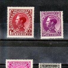 Sellos: BELGICA 390/3 CON CHARNELA, FONDOS PARA LOS INVALIDOS DE GUERRA. Lote 21225368