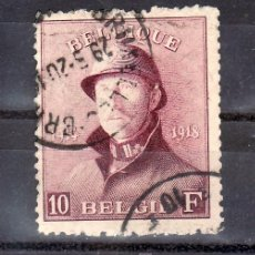 Sellos: BELGICA 178 USADA, REY ALBERTO I, . Lote 21226724