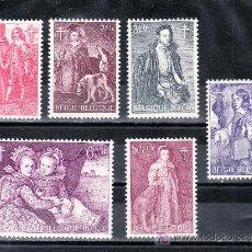 Sellos: BELGICA 1307/12 SIN CHARNELA, PINTURA, ANTITUBERCULOSOS, . Lote 52429382
