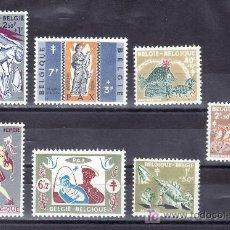 Sellos: BELGICA 1114/20 CON CHARNELA, ANTITUBERCULOSOS, . Lote 21175138