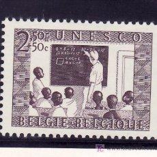 Sellos: BELGICA 843 SIN CHARNELA, CLASE EN EL CONGO, . Lote 21193312
