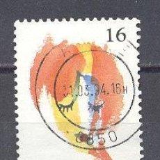 Sellos: BELGICA,1994-YVERTE TELLIER 2536 USADO. Lote 22003014