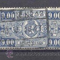 Sellos: BELGICA,1941- FERROCARRILES- USADO. Lote 23128278