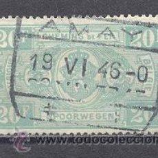 Sellos: BELGICA,1941- FERROCARRILES- USADO. Lote 23128319