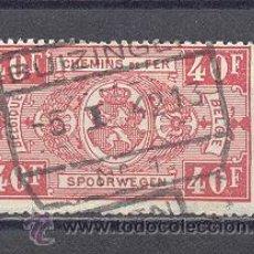 Sellos: BELGICA,1941- FERROCARRILES- USADO. Lote 23128389