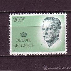 Sellos: BELGICA 2240*** - AÑO 1986 - REY BALDUINO I. Lote 23912403