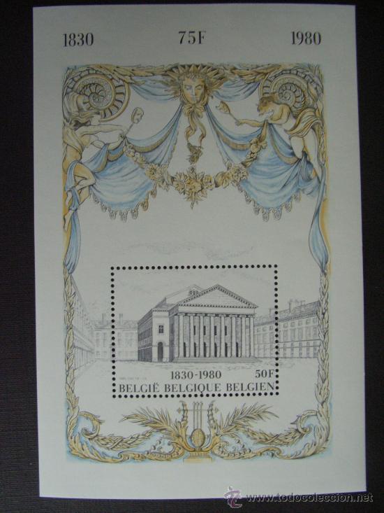 BELGICA Nº YVERT HB 55***. AÑO 1980. 150 ANIVERSARIO DE LA INDEPENDENCIA (Sellos - Extranjero - Europa - Bélgica)