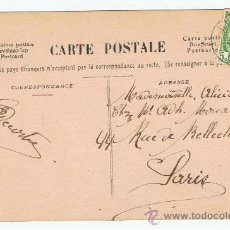 Sellos: POSTAL GALANTE CIRCULADA 1909 DE BELGICA A PARIS. Lote 27639888