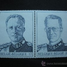 Sellos: BELGICA 1998 IVERT 2738/9 *** CASA REAL BELGA (I) - LEPOLDO III Y BALDUINO I . Lote 29587665