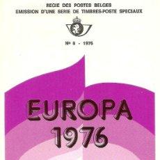 Sellos: EUROPA BELGICA 1976. Lote 34504106