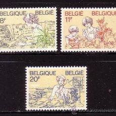 Sellos: BELGICA 2086/88** - AÑO 1983 - DIA DE LAS MADRES. Lote 210797672