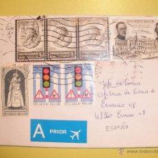 Sellos: BELGICA - ELISABETH GABRIELE VARERIE MARIE - ALBERTO I - JULES DESTREE - VIRGEN Y NIÑO - SEMAFORO.. Lote 39509503
