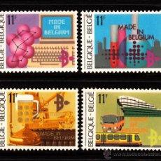 Sellos: BELGICA 2113/16** - AÑO 1984 - EXPORTACIONES BELGAS. Lote 210797692