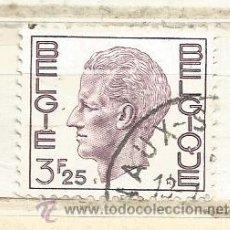 Sellos: BÉLGICA 1975. REY BALDUINO, 3.25 FRANCOS MARRÓN. Lote 47433170